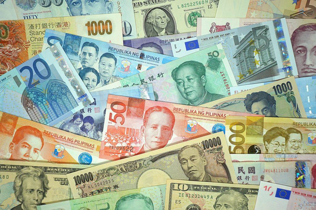世界中の紙幣