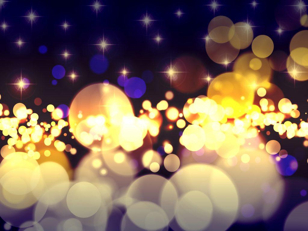 キラキラ光る夜景