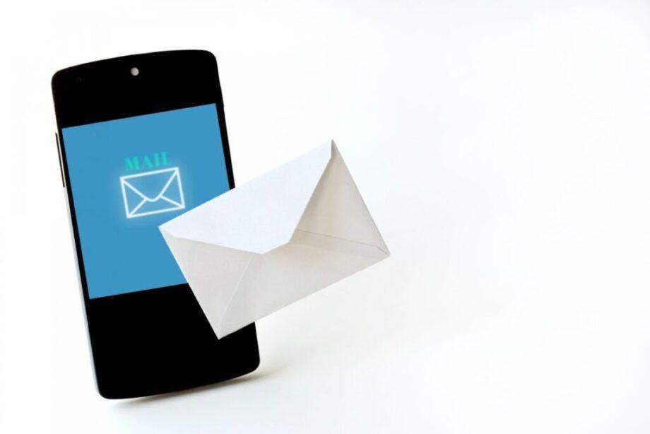 スマートフォンとメール
