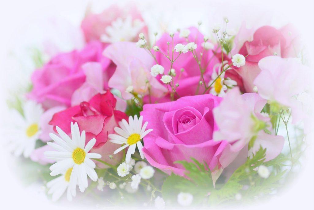 様々な種類の花