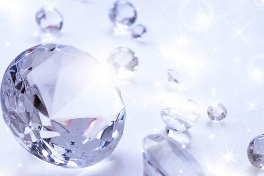 宝石のダイヤ
