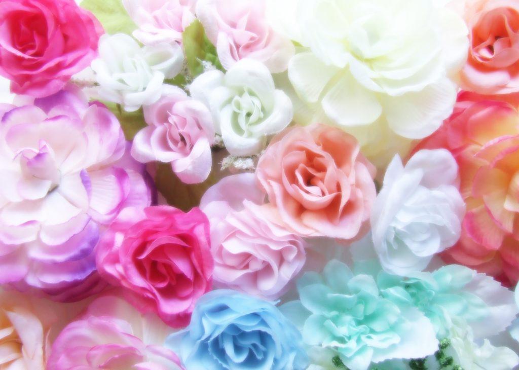 華やかなバラの数々